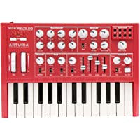 Arturia Microbrute Analog Synthesizer + Analog Lab 2 (software) Special Edition Bundle (Red)