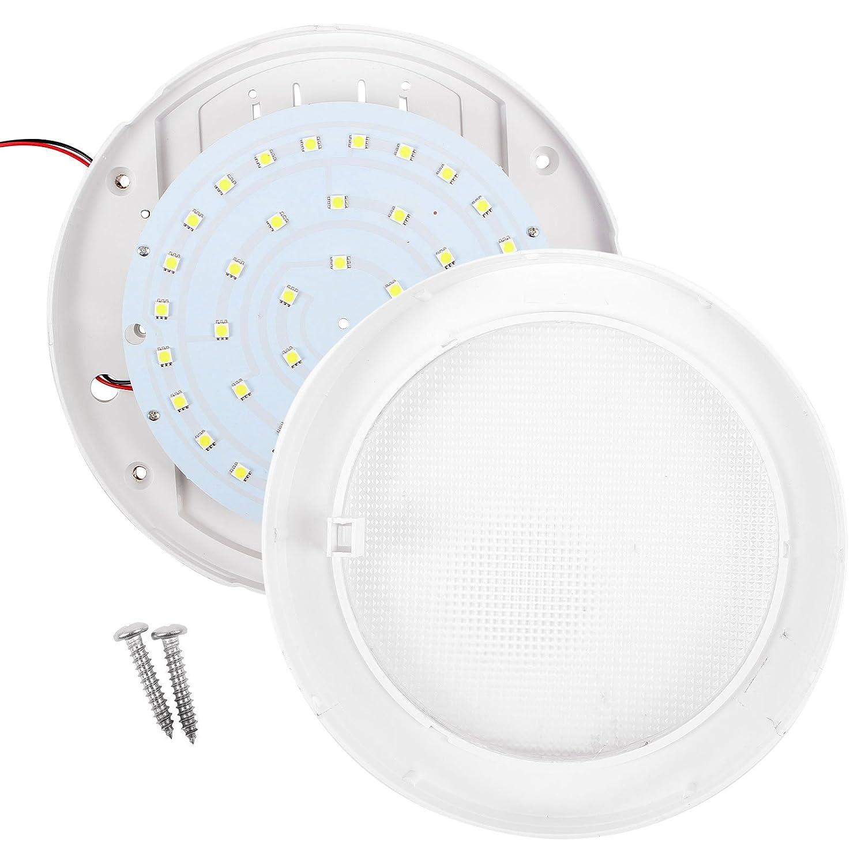 8,5/W diametro x profondit/à camper e barche 220 x 50/mm lampada da soffitto 840 lm 12/V Illuminazione a LED interna per roulotte