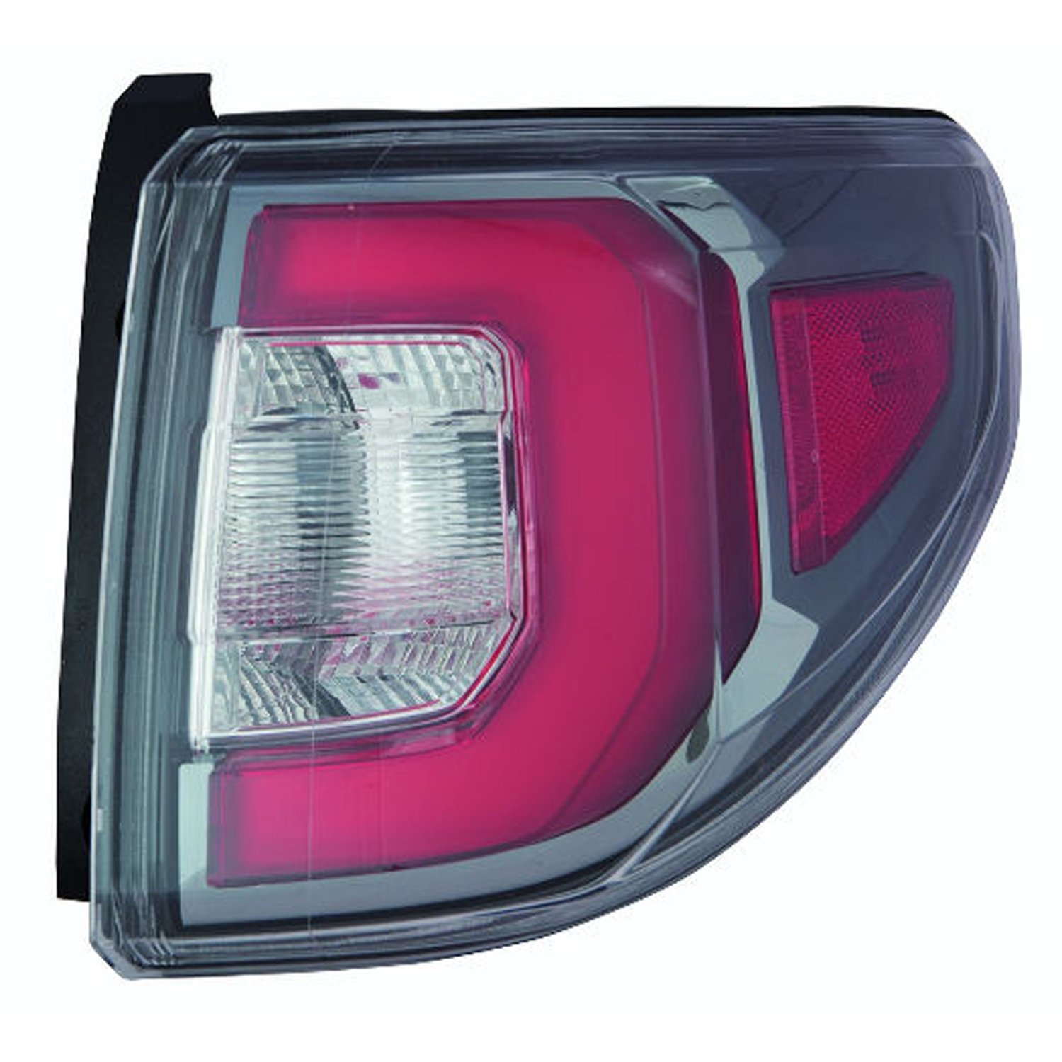 OE Replacement Tail Light Assembly GMC ACADIA 2013-2016 Multiple Manufacturers GM2804113N Partslink GM2804113