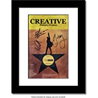 CreativePF Theatre Playbill Frame - Displays 8.5 by 5.5 inch Media Collection Easel Stand and Wall Hanger Included…
