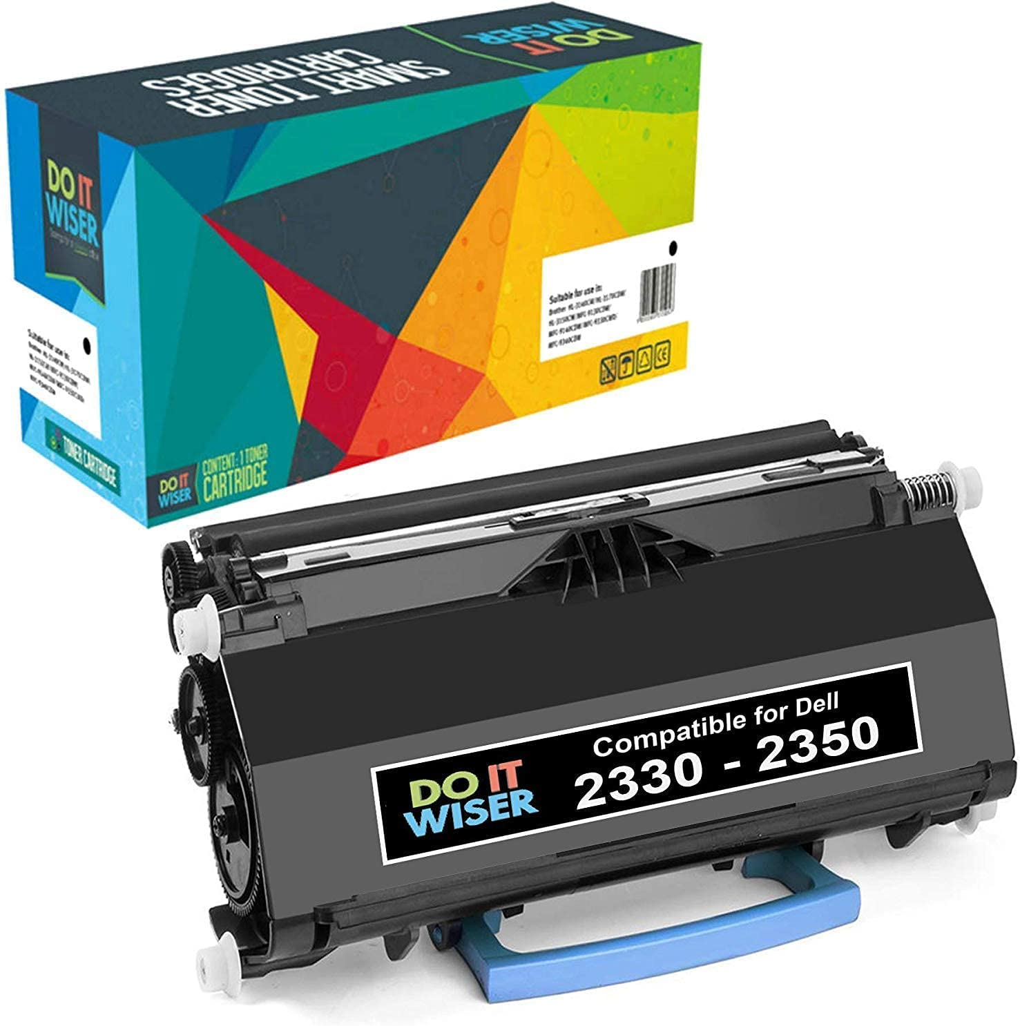 Do it Wiser Compatible Toner Cartridge Replacement for Dell PK941 Dell 2350DN 2330DN 2330D 2330DTN 2330 2350D 2350 Printer (Black - 6,000 Pages)