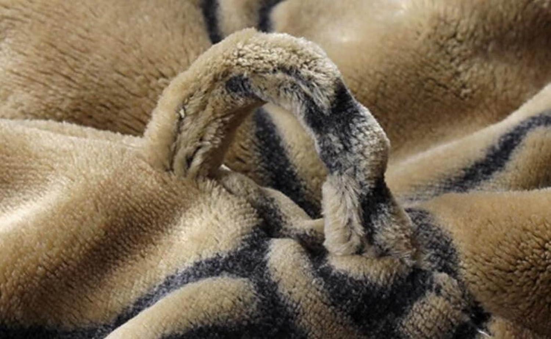 PFSYR Pigiami Maniche Lunghe Siamese Pigiama Pigiama Inverno Gli Accappatoi di Flanella pi/ù Spessi degli Uomini Invernali Servizio Domestico
