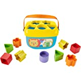 Fisher-Price Baby's First Blocks Set, Shape Sorting Toy