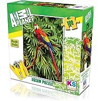 KS Puzzle 100 Parça Scarlet Macaw 10111