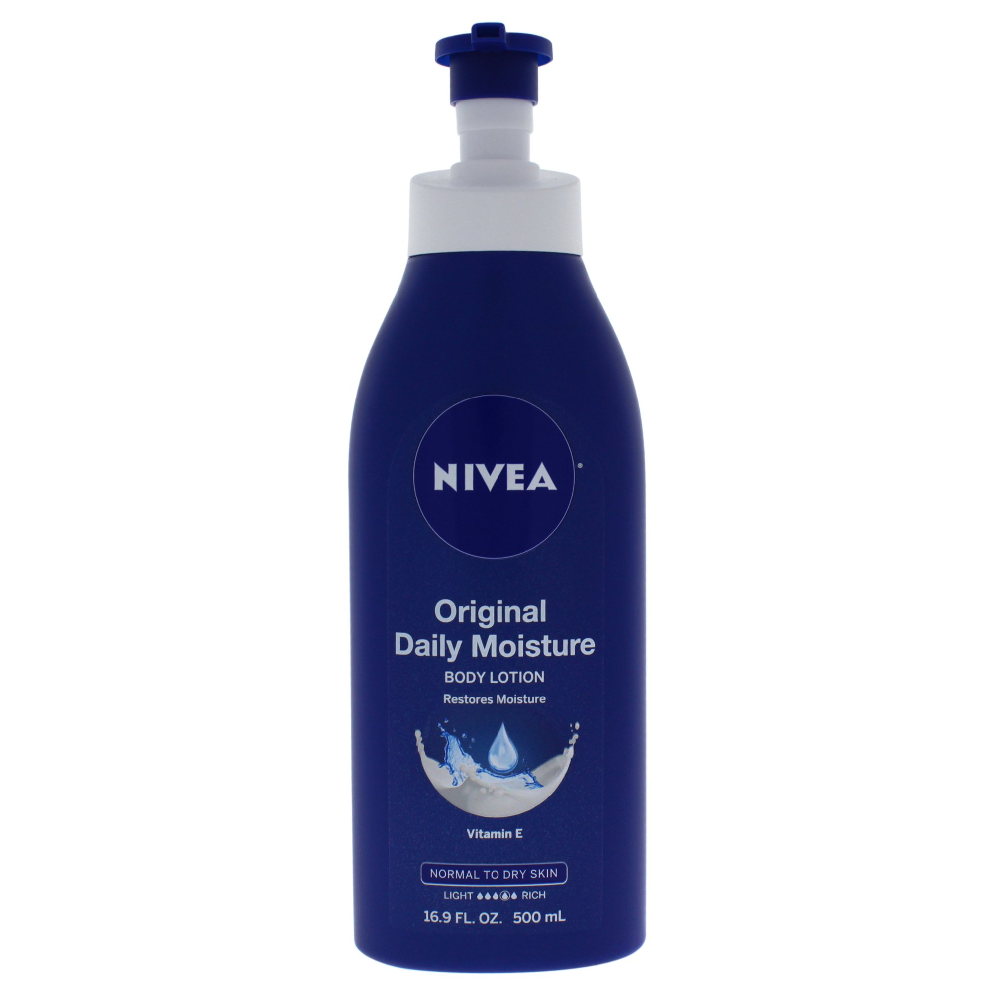 NIVEA Original Daily Moisture Body Lotion 16.9 Fluid Ounce