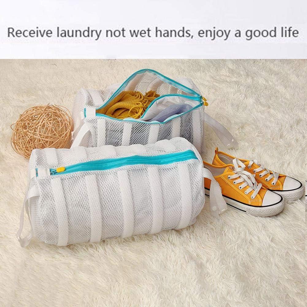Sac de lessive en Tissu pour Laver ou s/écher Les Chaussures Les Baskets Les sous-v/êtements Le Soutien-Gorge et la Lingerie en Machine /à Laver et s/èche-Linge