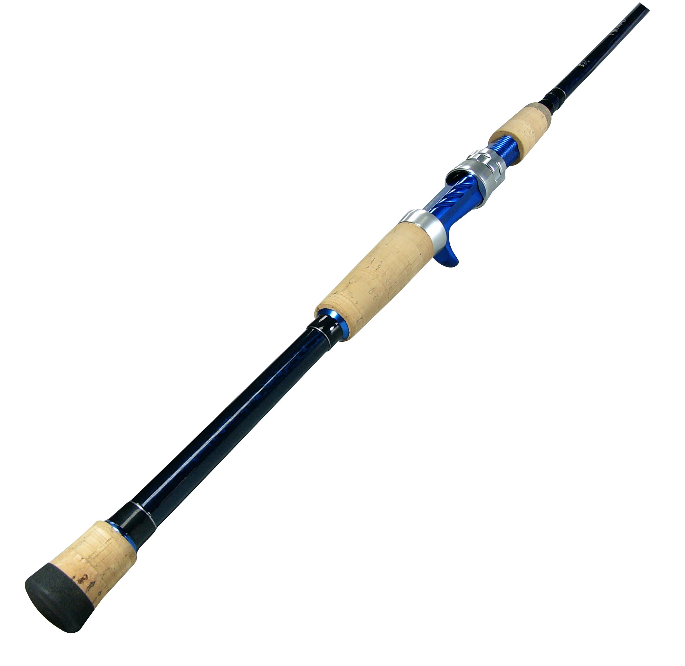 Okuma's Nomad Inshore Saltwater Multi Action Travel Rods-NTi-C-703M-MH  (Blue/Black, 7-Feet) by Okuma