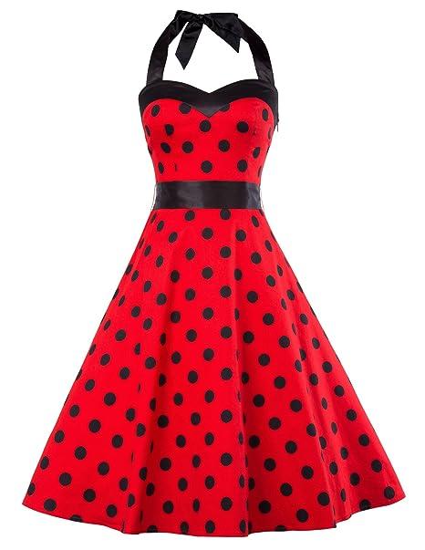 vestido de la enagua 50s oscilación del vestido del rockabilly vestido de la vendimia vestido de