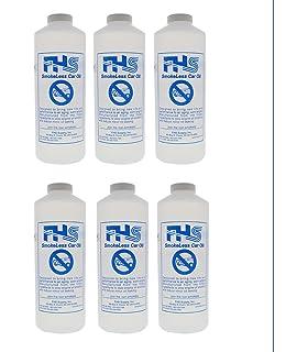 FHS SmokeLess Lite Car Oil, 1 Quarts, 6-Pack