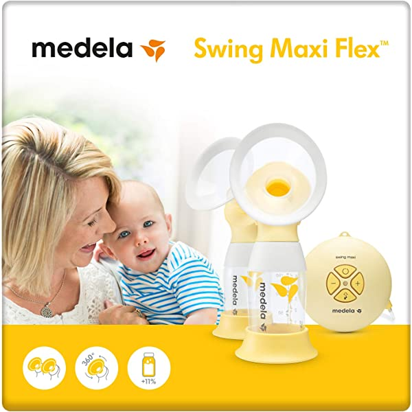 Medela Swing Maxi Flex Extractor de leche eléctrico doble: Amazon ...