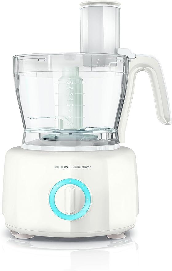 Philips HR7782/01 - Robot de cocina (3,4 L, Azul, Blanco, 1,2 m, ABS sintéticos, Acero inoxidable, 1000 W): Amazon.es: Hogar