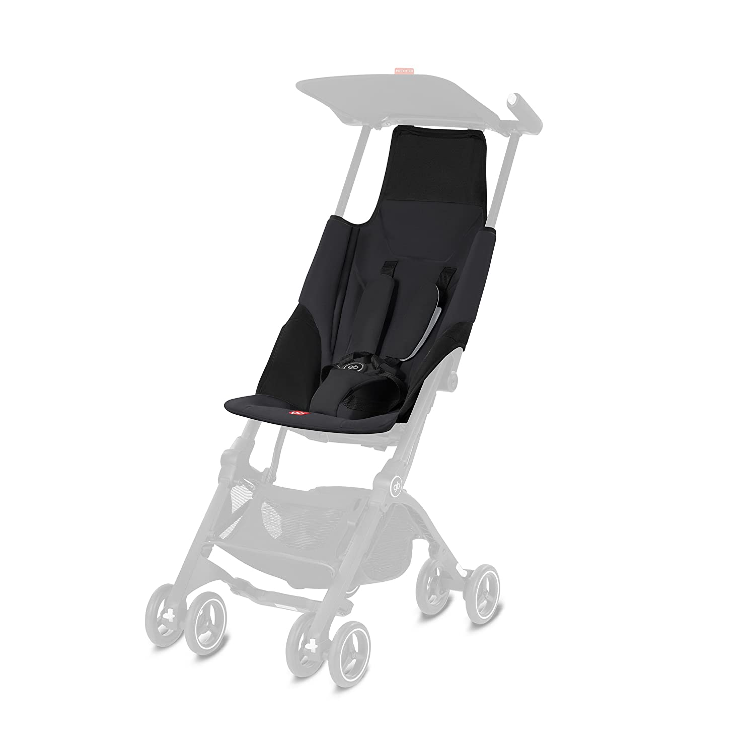 gb Pockit Go Fabric Kit, Satin Black Cybex 618000899