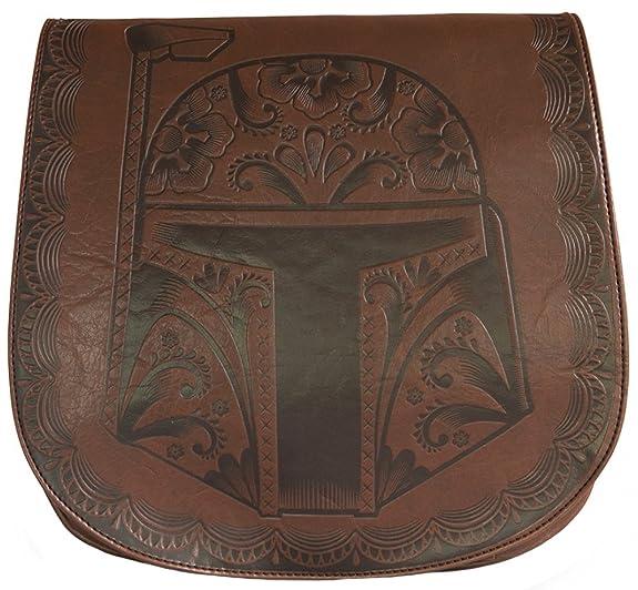 Star Wars Boba Fett Brown Cross Body Bag