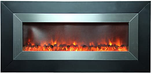 Amazon Com Aa Warehousing 53 Inch Wall Mount Electric Fireplace