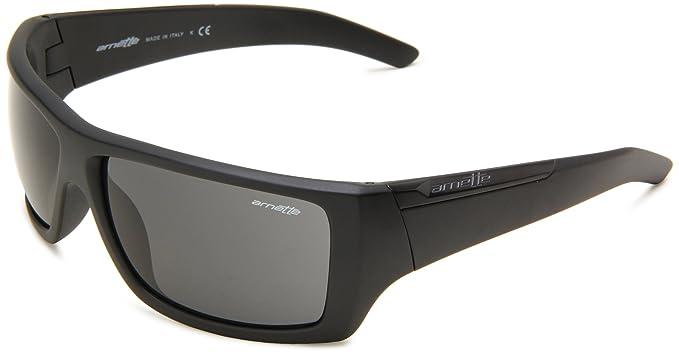 3f9ed541e9 Image Unavailable. Image not available for. Color  Arnette Men s Hazard  AN4167-01 Square Sunglasses