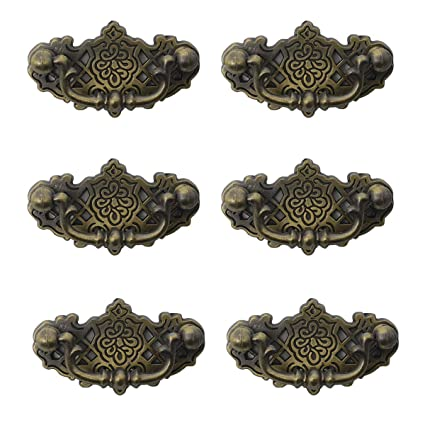 Image Unavailable - Dresser Drawer Bail Pull Handles Vintage-Style Furniture Hardware