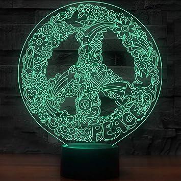 Amazon.com: Shuangklei - Luces de noche con forma de señal ...