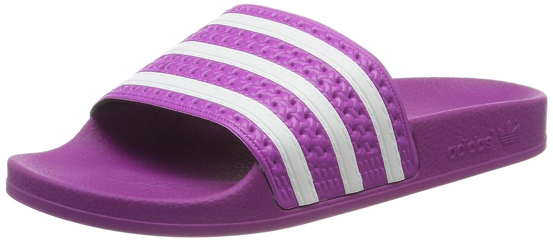 purple adidas sandals