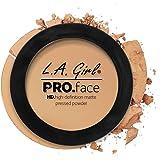 LA Girl HD Pro Face Pressed Powder, Medium Beige, 7g