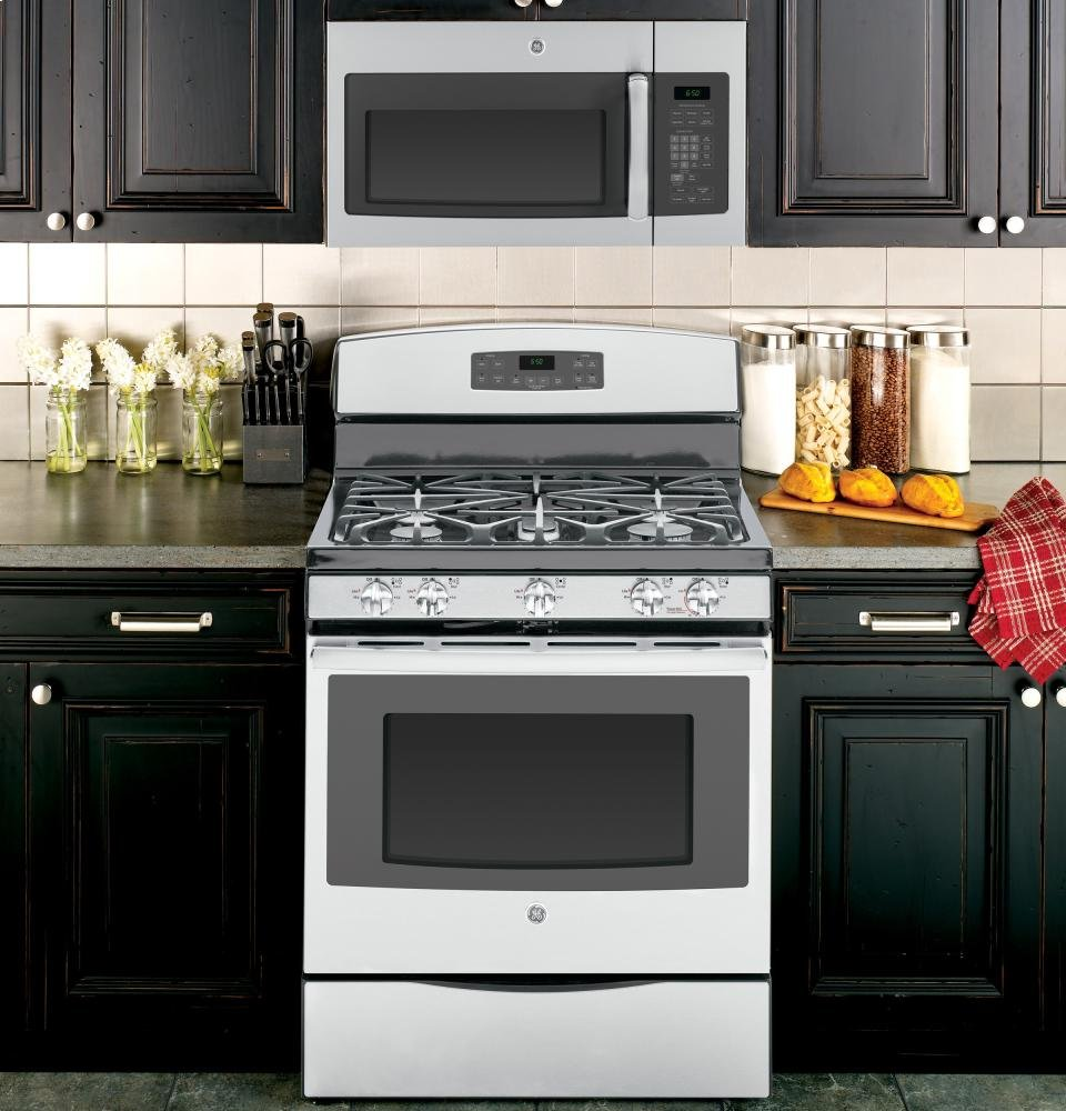 Home kitchen appliances microwaves over the range microwaves - Ft Stainless Steel Over The Range Microwave Microhood Microwave Ovens Kitchen Dining