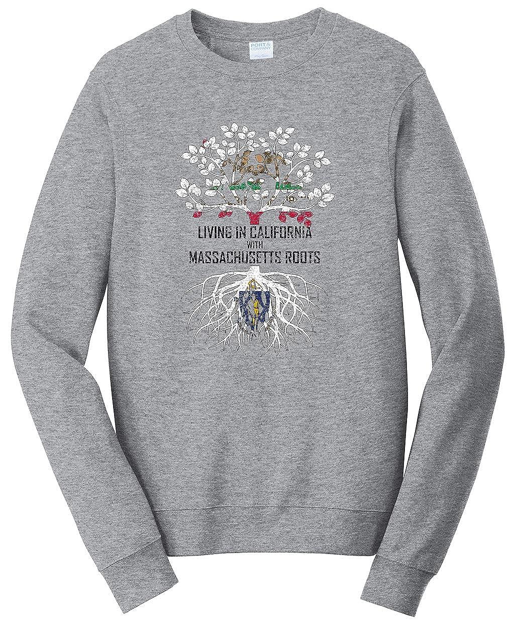 Tenacitee Girls Living in Massachusetts with Alaska Roots Hooded Sweatshirt