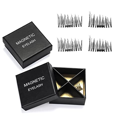 d245b7d0092 Buy Fitnate Magnetic Eyelashes 3D Reusable False Magnet Eye Lashes  Extensions 2 Pairs, 1 Set (Bt0110A) Online at Low Prices in India -  Amazon.in