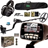 """Garrett AT PRO with MS-2 Headphones and 50"""" Travel Carry Bag"""