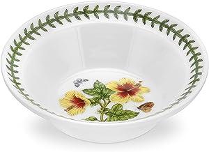 PORTMEIRION EXOTIC BOTANIC GARDEN Oatmeal bowl hibiscus