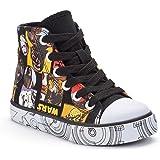 Disney Star Wars Boys High-Top Canvas Sneakers (Toddler/Little Kid/Big Kid)