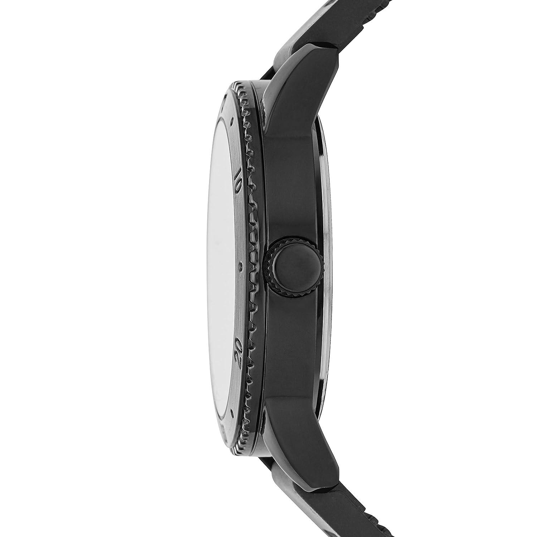 Amazon.com: Skechers Mens Redondo Quartz Metal and Silicone Casual Watch Color: Black (Model: SR5000): Watches