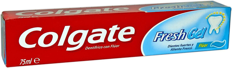 Colgate - Fresh Gel - Pasta de dientes - Pack de 3 x 75 ml: Amazon.es: Salud y cuidado personal