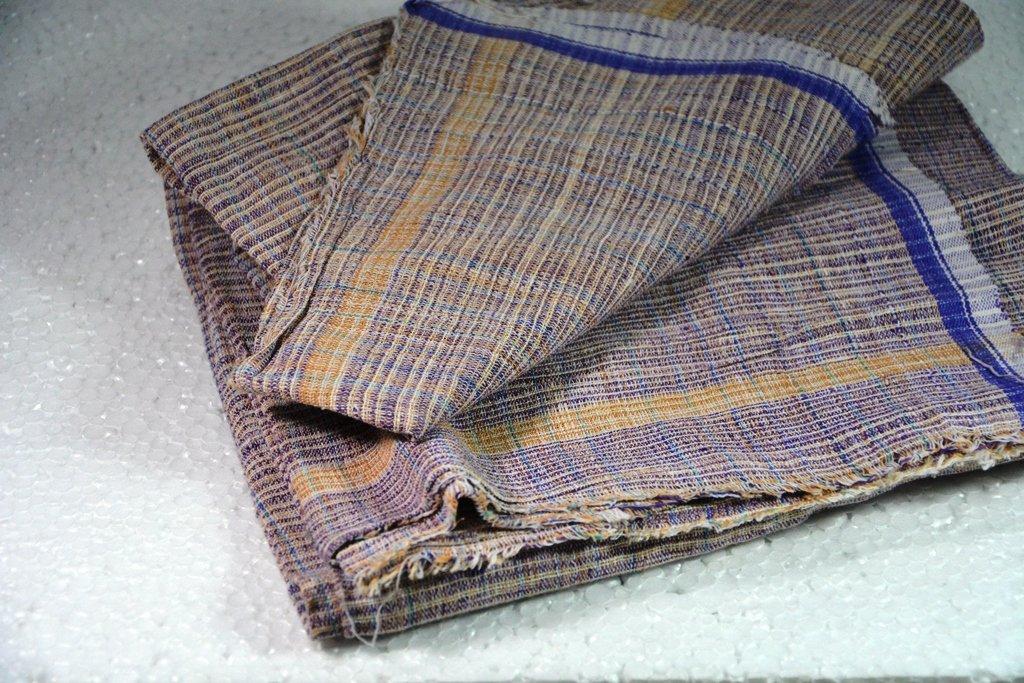 Khadi India Hand-spun and hand woven Khadi lungi , khadi table cover, khadi sarong , khadi cotton