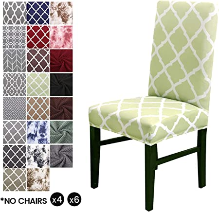 【Material】Material de alta calidad covers Cubiertas para sillas de comedor LiveGo confeccionadas con