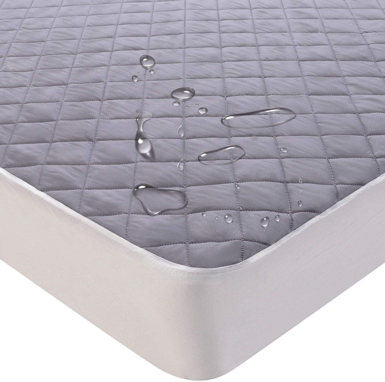 KEAFOLS Protector de Colchón Impermeable 180 x 200 cm Cubre Colchon Transpirable