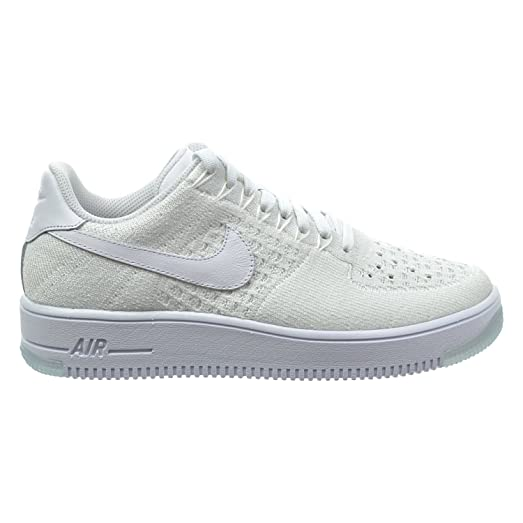 premium selection 445ec aa3ef Nike Air Force 1 Flyknit Low Women s Shoes White 820256-101 (10.5 B(