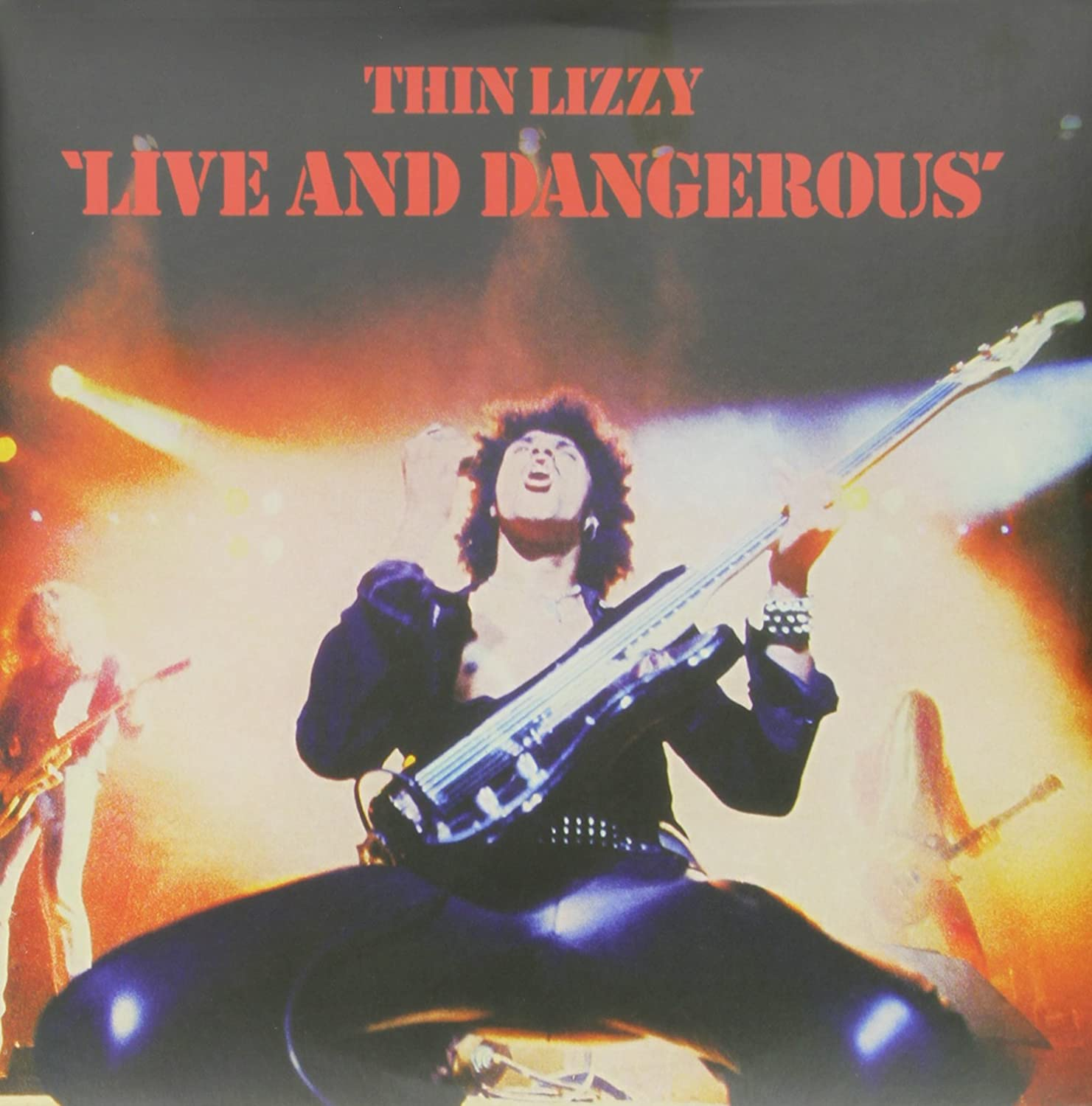 thin lizzy live and dangerous 2 lp music