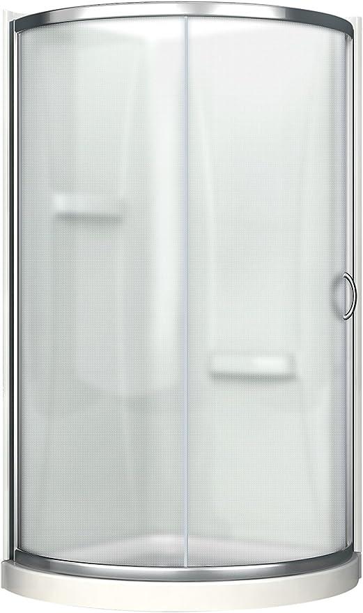 Ove Premium de muñeco Kit de ducha con acrílico base y paredes y ...