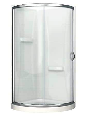 36 inch corner shower kit. Ove Decors Breeze 36 withwalls Premium Inch Shower Kit with Acrylic Base  and Walls Amazon com
