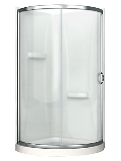 Superior Ove Decors Breeze 38 Withwalls Premium 38 Inch Shower Kit With Acrylic Base  And Walls