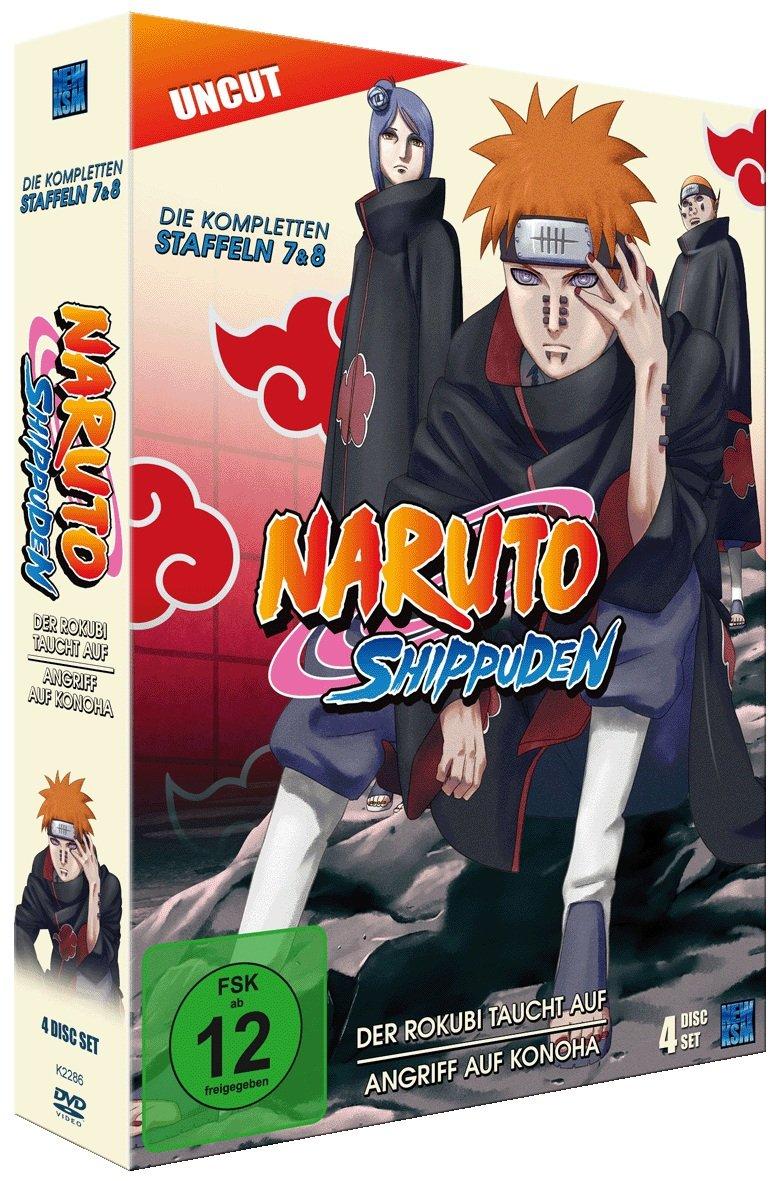 Naruto Shippuden, Staffel 7 & 8: Der Rokubi taucht auf ...