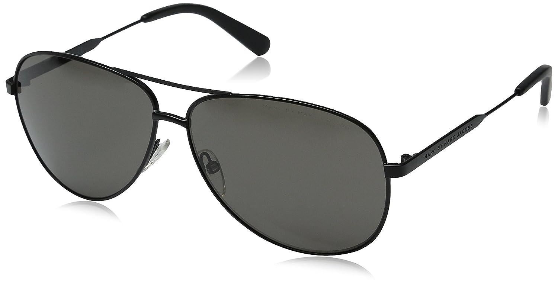 2f86b67de6a47 MARC BY MARC JACOBS MMJ 444 S XMAS Sunglasses 0003 Matte Black 60-11-140   Amazon.co.uk  Clothing