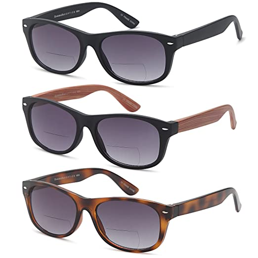 54fc676786 Scojo sunglasses readers Source · Amazon com GAMMA RAY 3 Pairs Bifocal  Gradient Sunglasses Readers