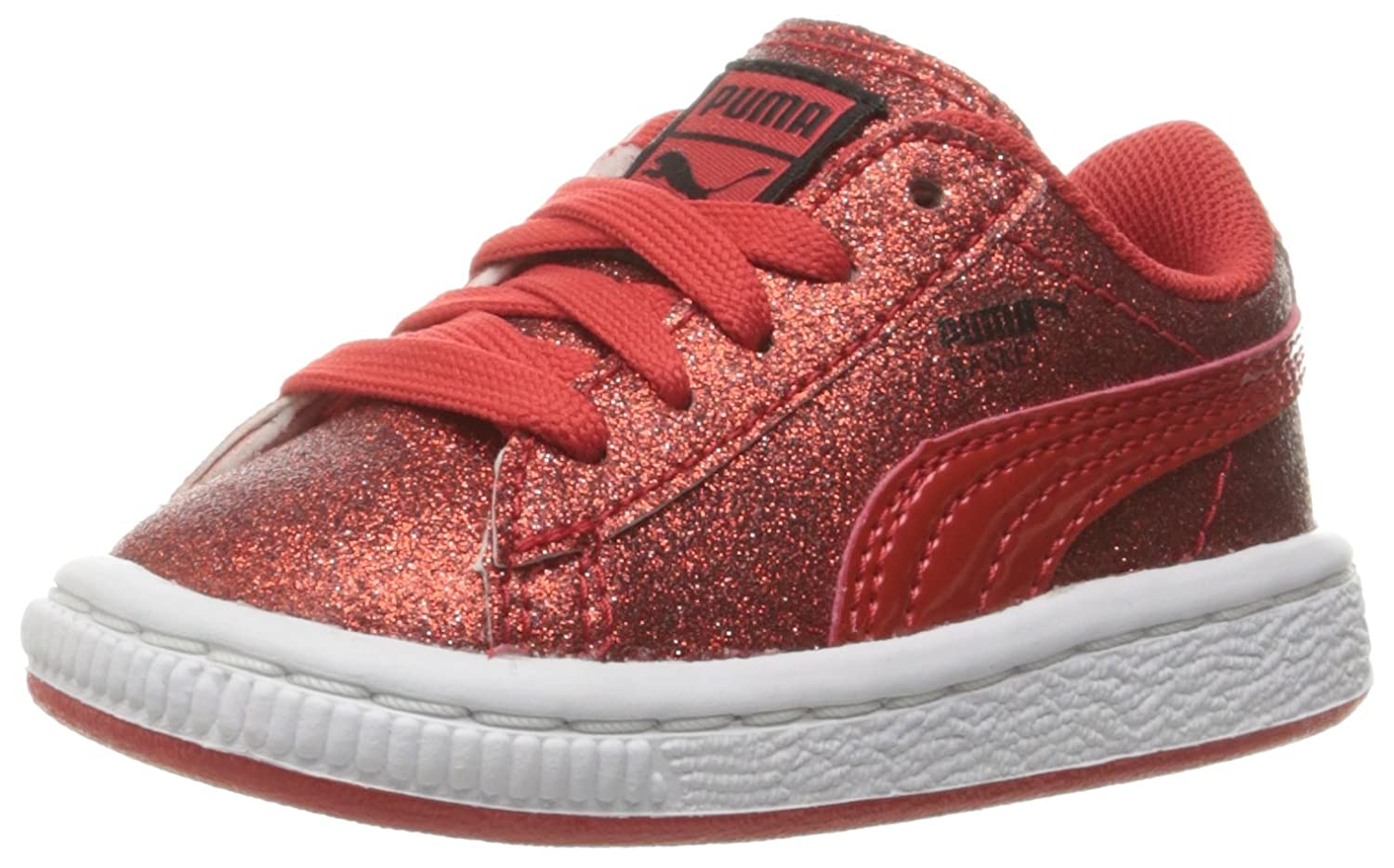 Kids Puma Glitz Holiday Sneakertoddler Basket dhrCtsQ