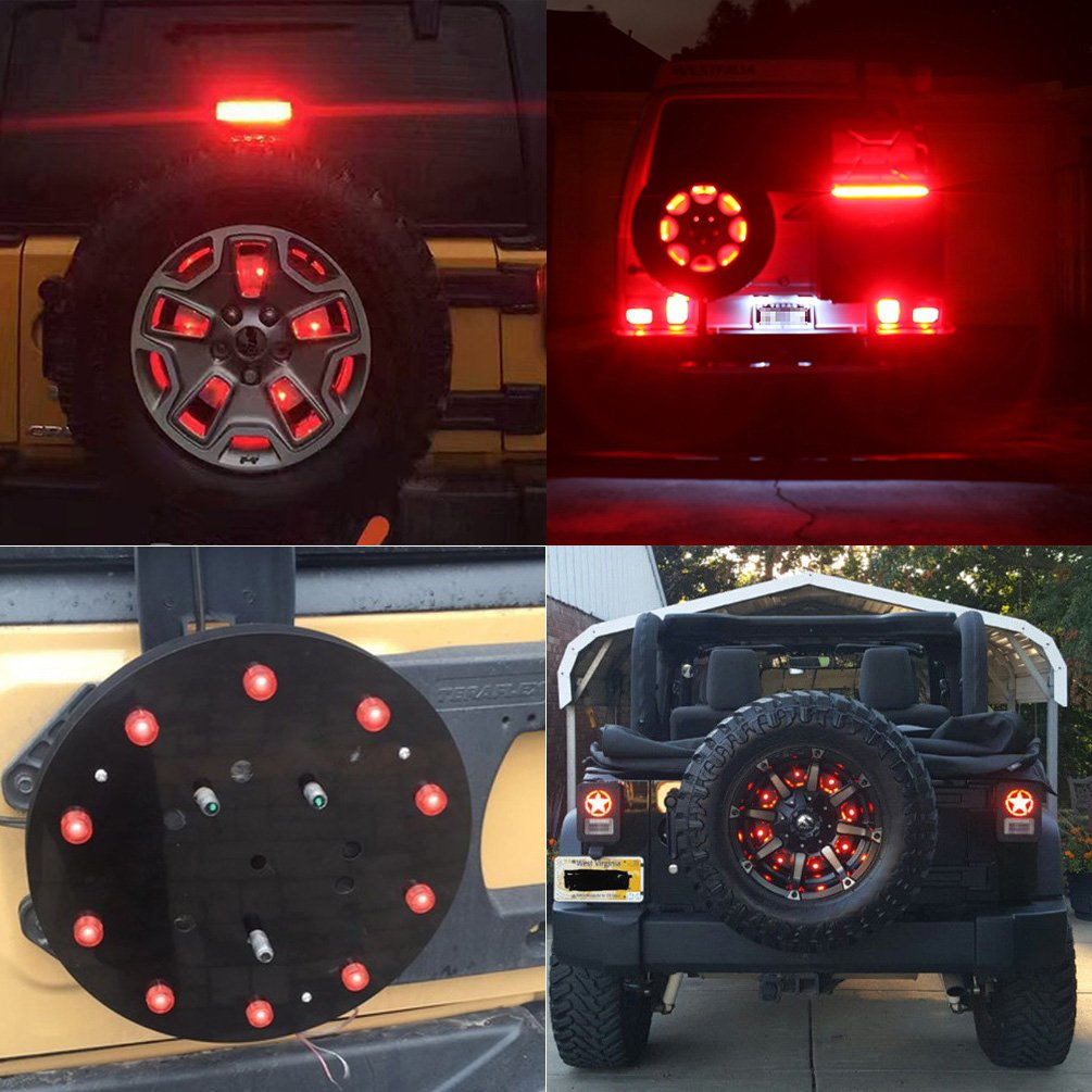 jeep third brake lights and led 3rd brake rear lights. Black Bedroom Furniture Sets. Home Design Ideas