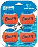 Chuckit Tennis Ball Jouet pour Chien 4 Pièces 6 cm Taille M