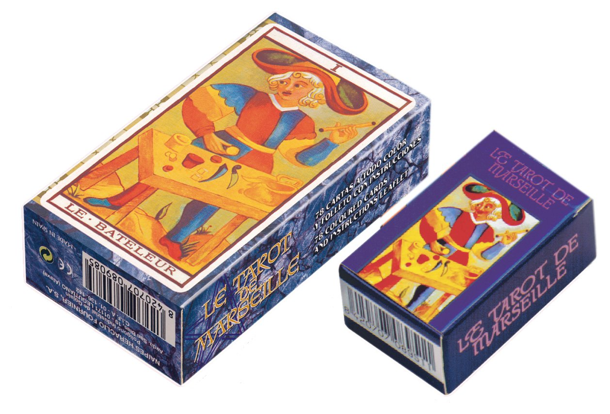 Fournier 21821 - Juego de cartas - Tarot de Marsella Mini ...