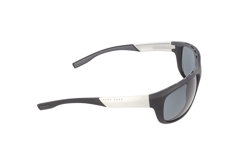 Hugo Boss Herren 0606/P/S RA MZA Sonnenbrille, Grau (Grey Palladium Orange/Polar Grey Silver Mirror), 65