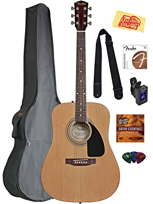 Fender Acoustic Guitar Bundle
