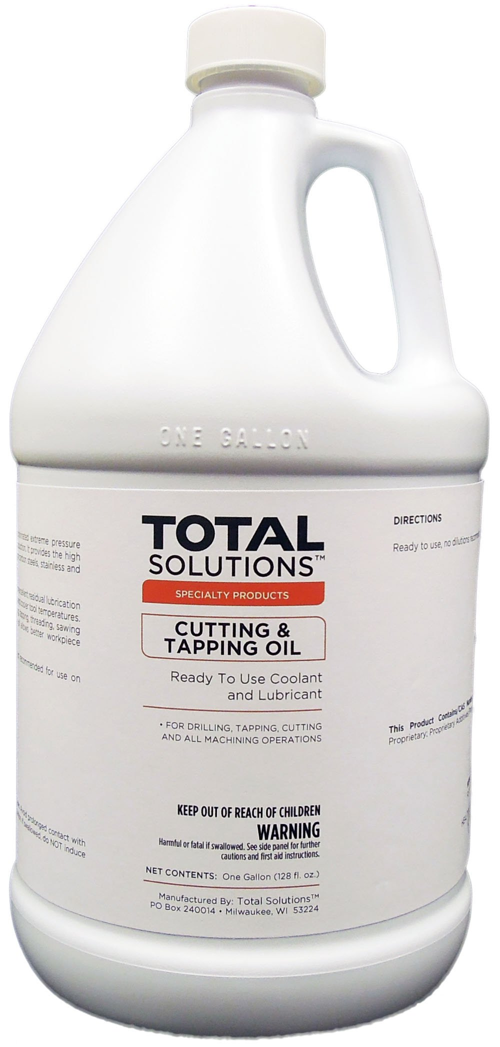 Cutting & Tapping Oil, Oil-based coolant & lube - 4 Gallons by EcoClean Solutions