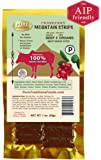 Mountain Strips Cranberry, AIP Friendly, Beef & Organ Meat, 1 oz (12 Pack)